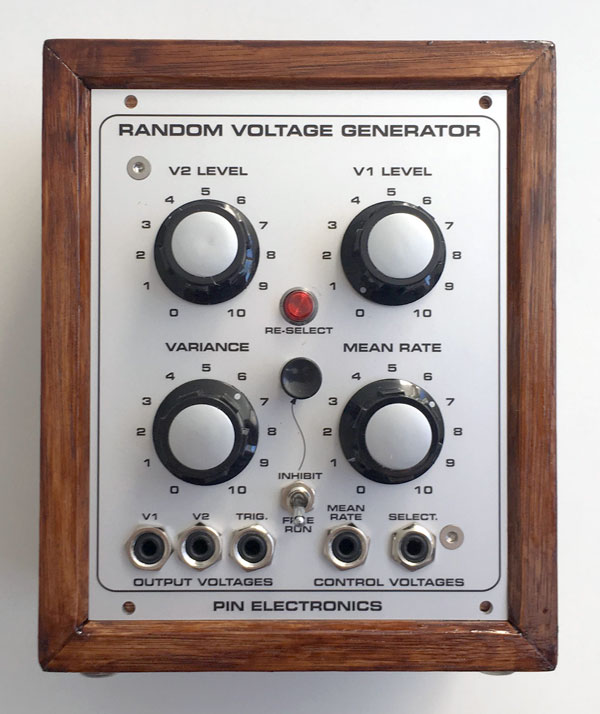 The Random Voltage Generator | Pin Electronics
